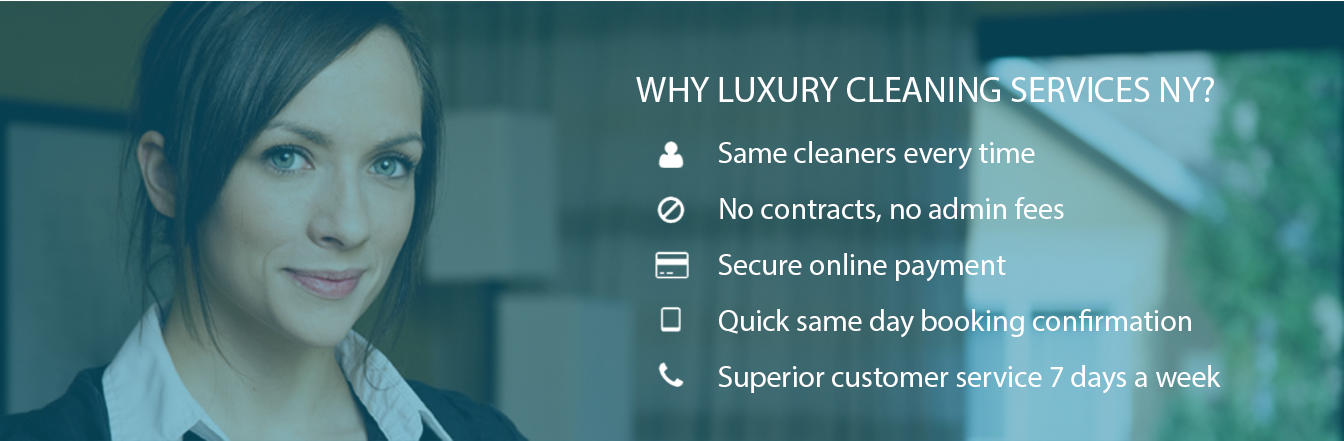 luxury cleaning services nyc main features