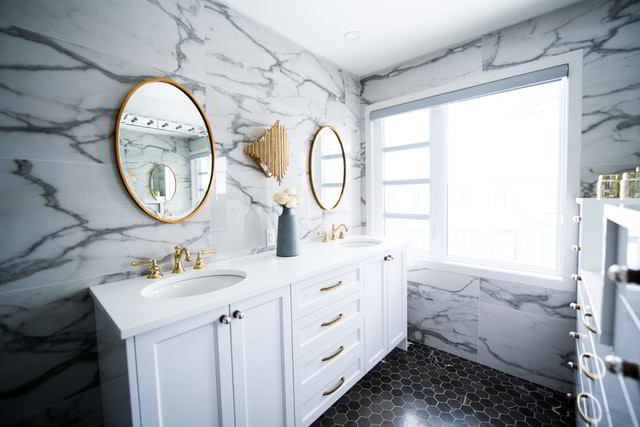 Make your bathroom shine
