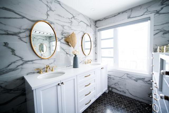 Make your bathroom shine