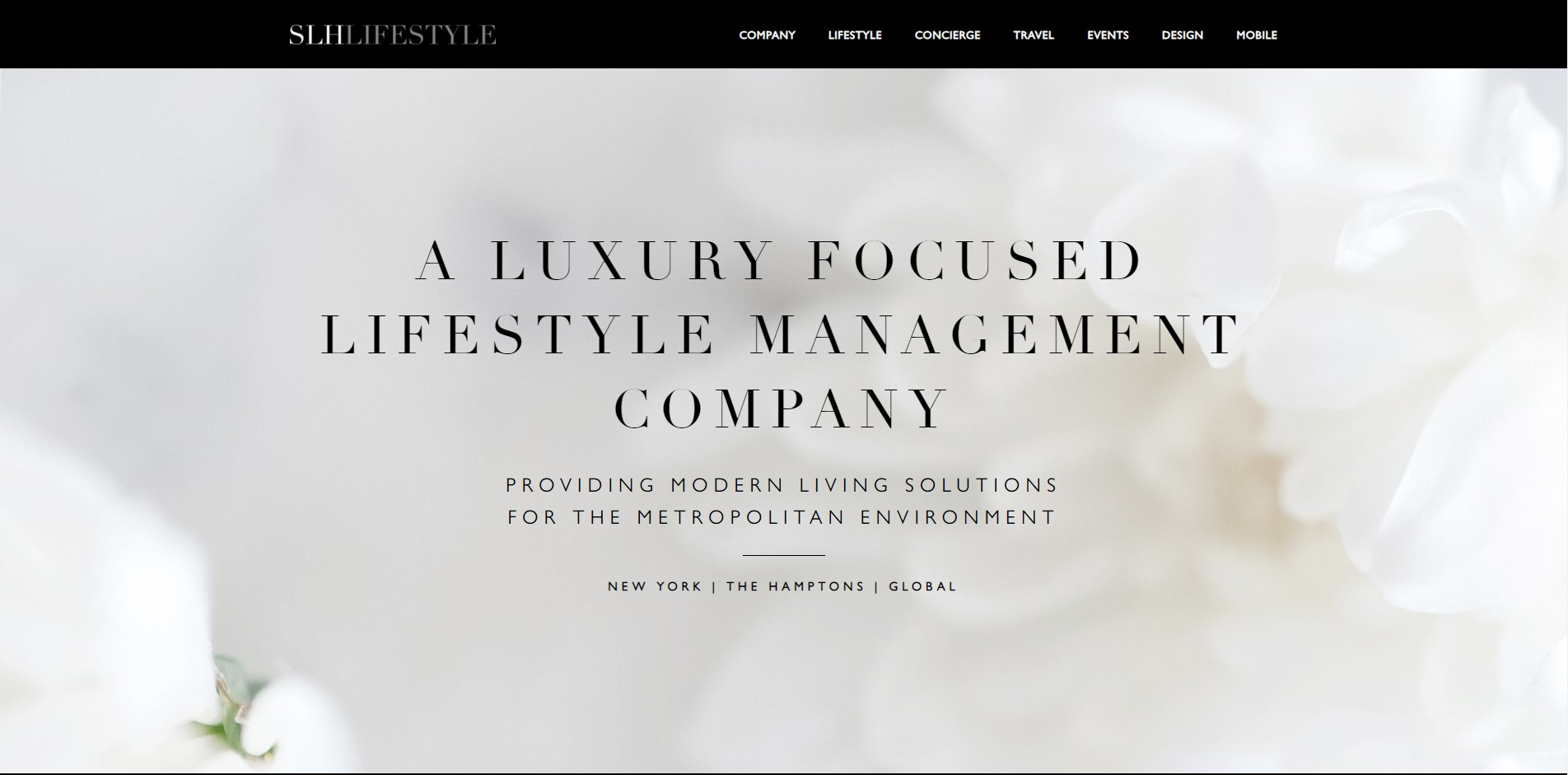 SLHlifestyle lifestyle management nyc