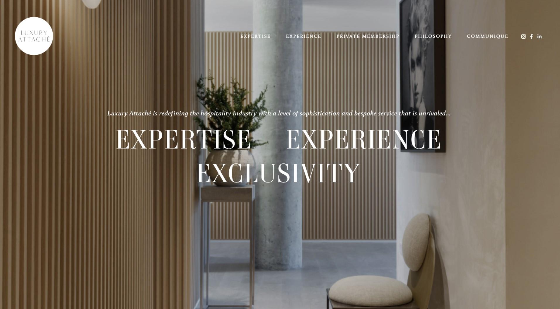 luxury attache