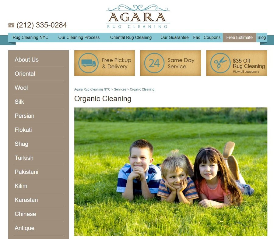 agara rug cleaning - organic carpet cleaning nyc company