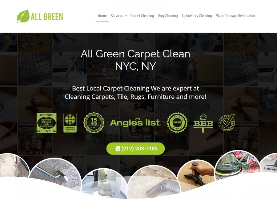 all green organic carpet cleaning nyc