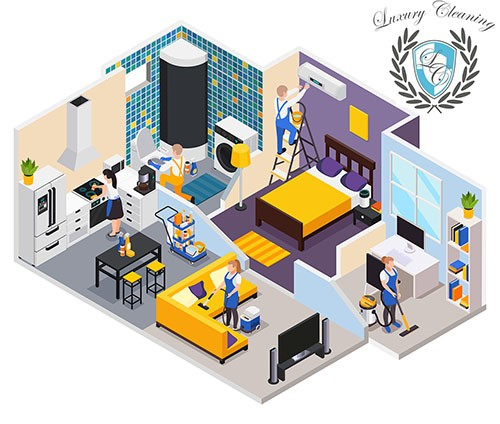 House Cleaning Services by Luxury Cleaning NY