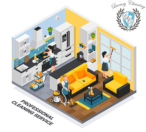 Professional Maid Cleaning Service NYCice Composition